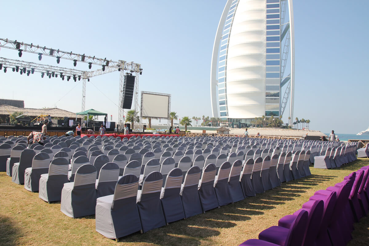 The Events Arena, Jumeirah Beach Hotel